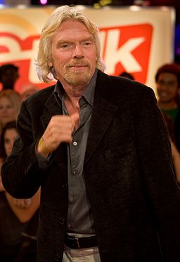 Richard Branson Photo: Richard Burdett