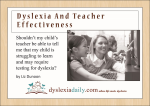 A Free Downloadable eBook: Can Teachers Diagnose Dyslexia?