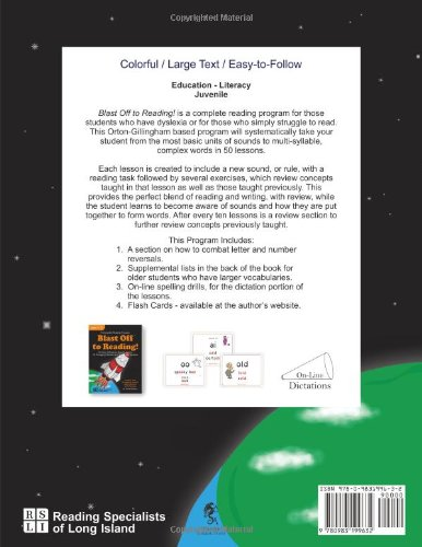 Blast Off To Reading 50 Orton Gillingham Based Lessons For