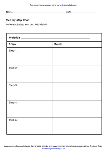 free worksheets graphic organisers dyslexia daily dyslexia daily. Black Bedroom Furniture Sets. Home Design Ideas